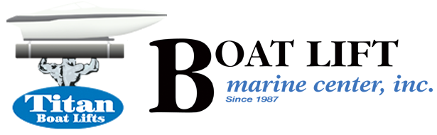 Boat Lift Marine Center, Inc. Titan Boat Lifts Logos